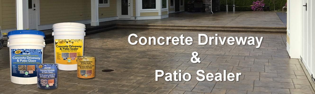 Concrete Sealer & Glaze