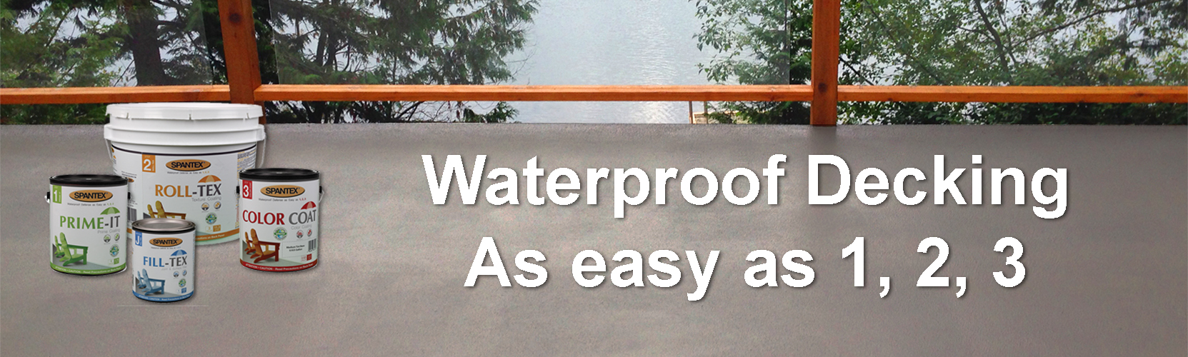Spantex - Waterproof Deck Coating